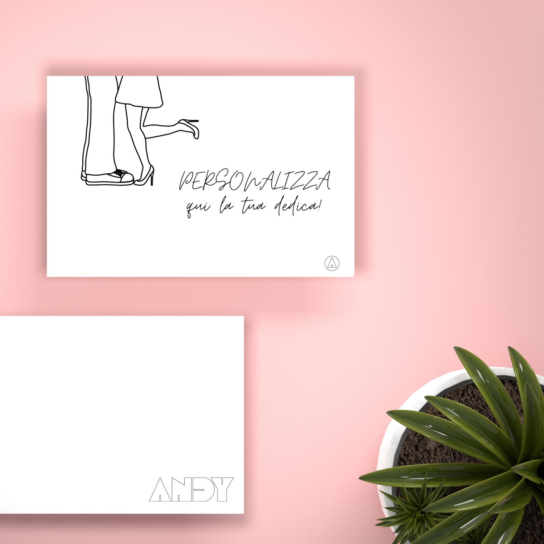 BIGLIETTO REGALO - Romantico Love (Personalizzato)