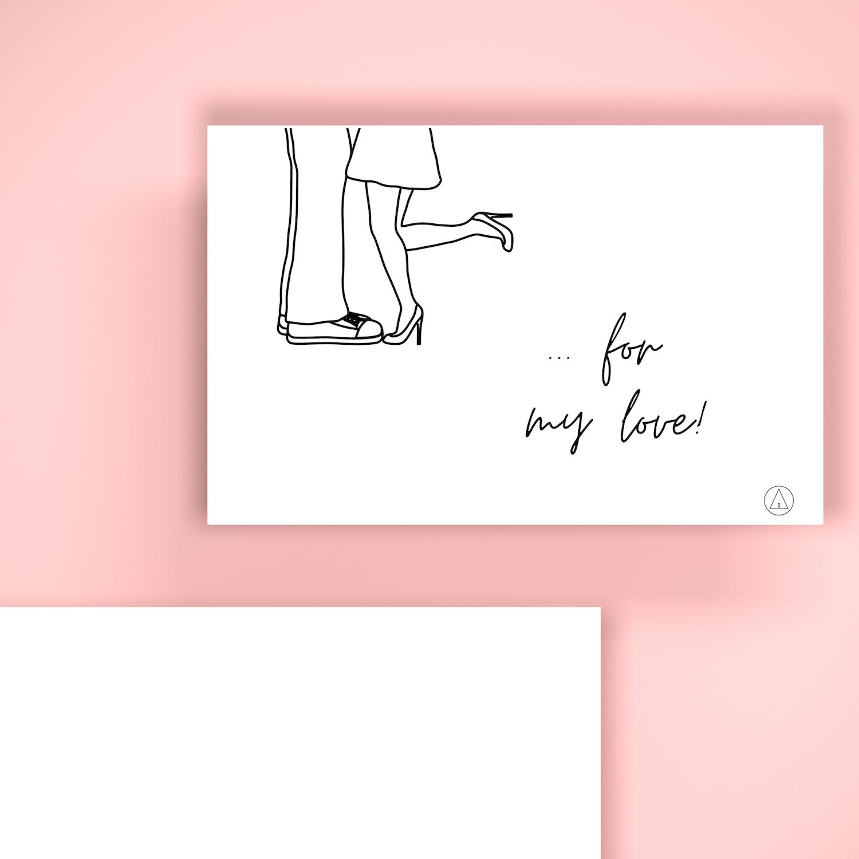 BIGLIETTO REGALO - Romantico For My Love