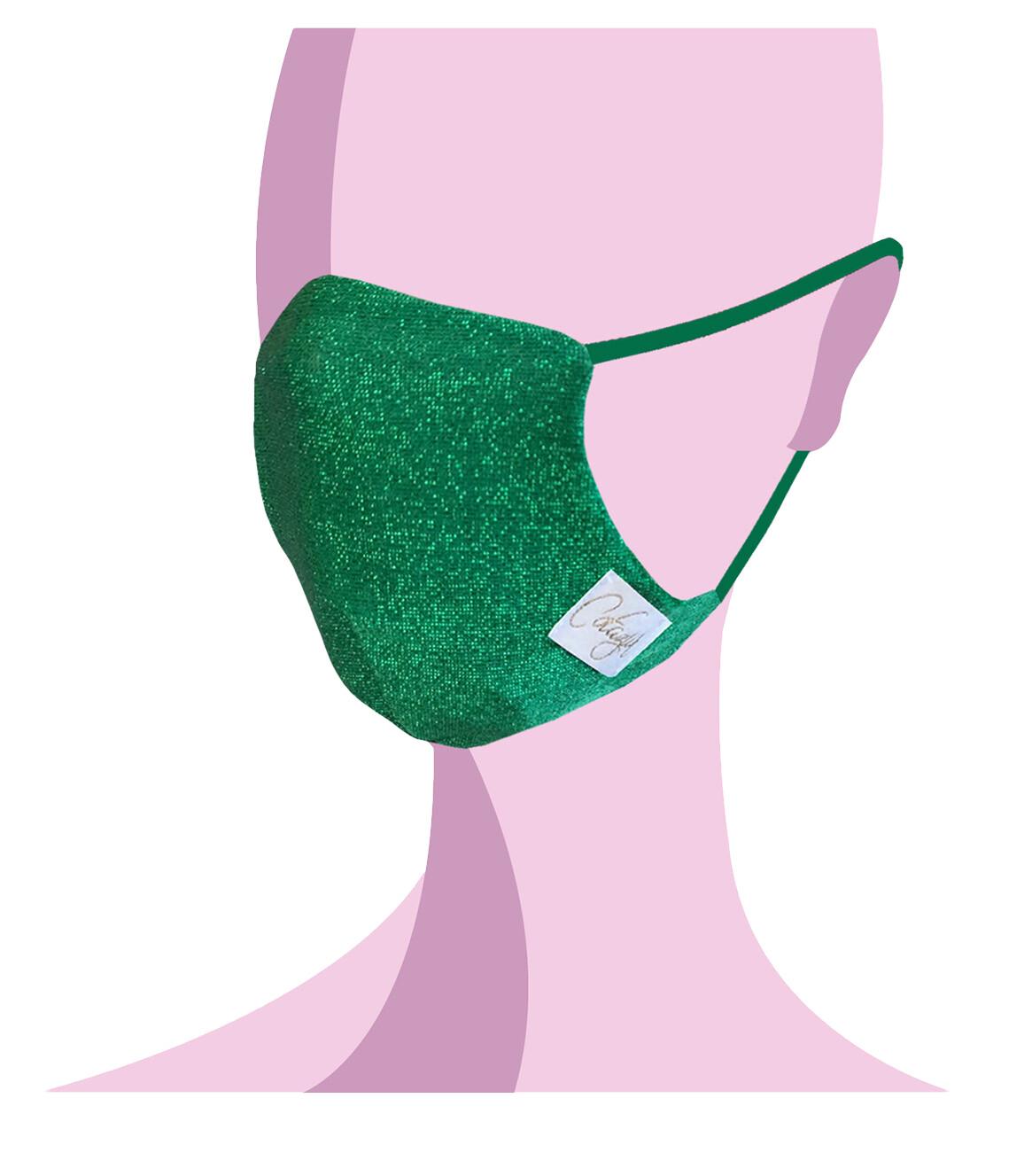 COTAZUR - Mask for Summer - Lurex Verde