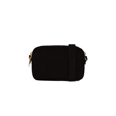 COCCINELLE - Alpha Suede Camera Bag - Noir