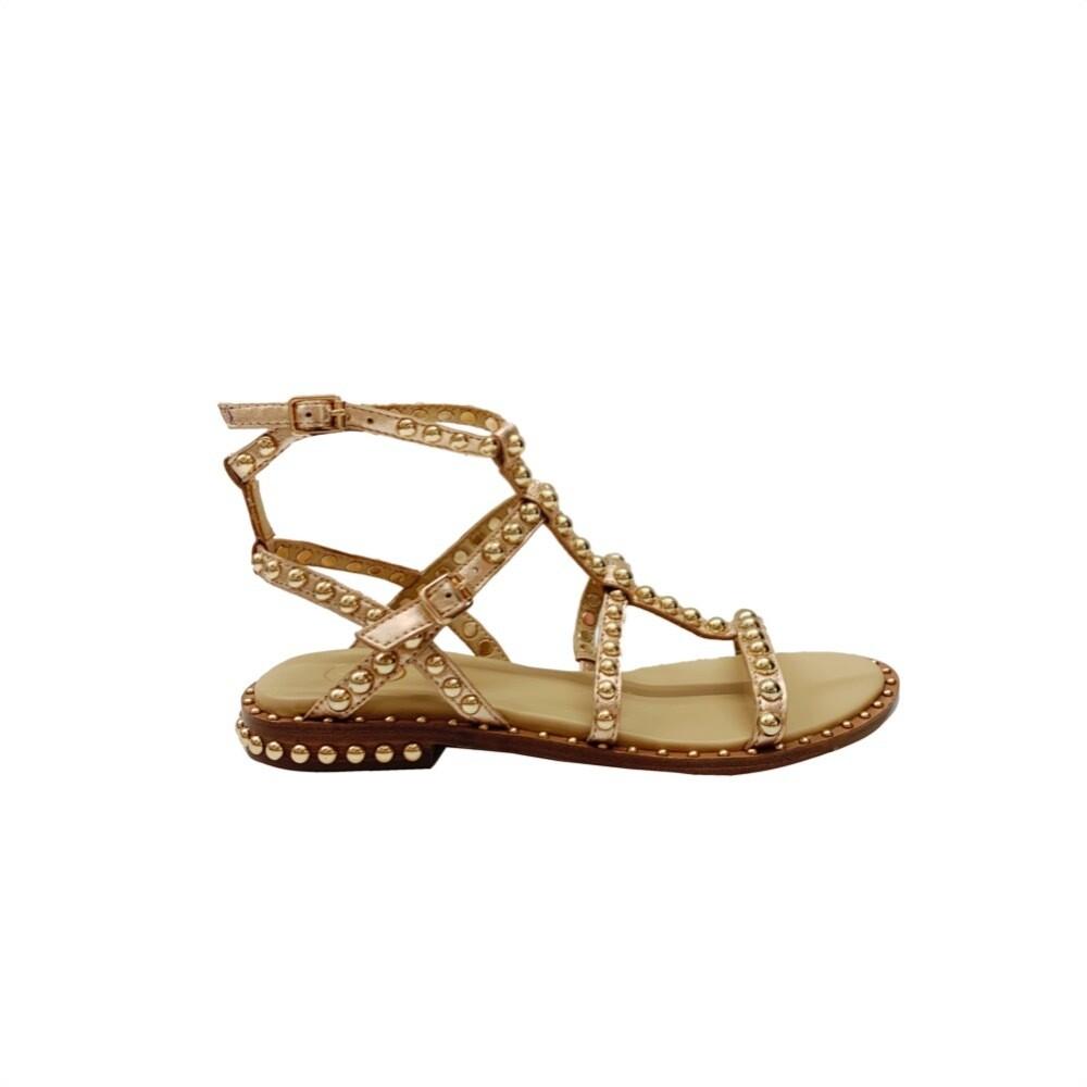ASH - Precious Sandalo con borchie - Rame