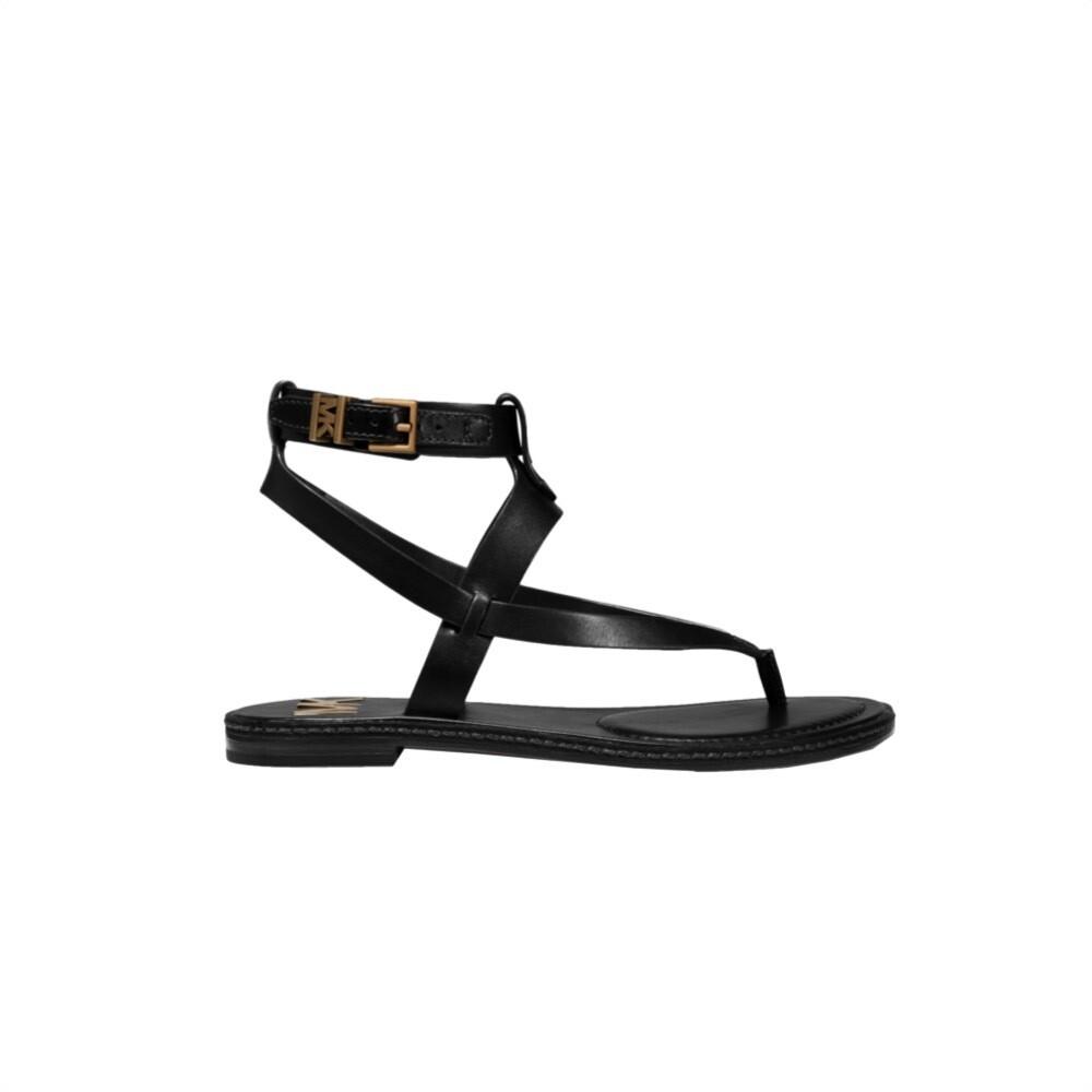 MICHAEL KORS - Pearson Sandalo in pelle - Black