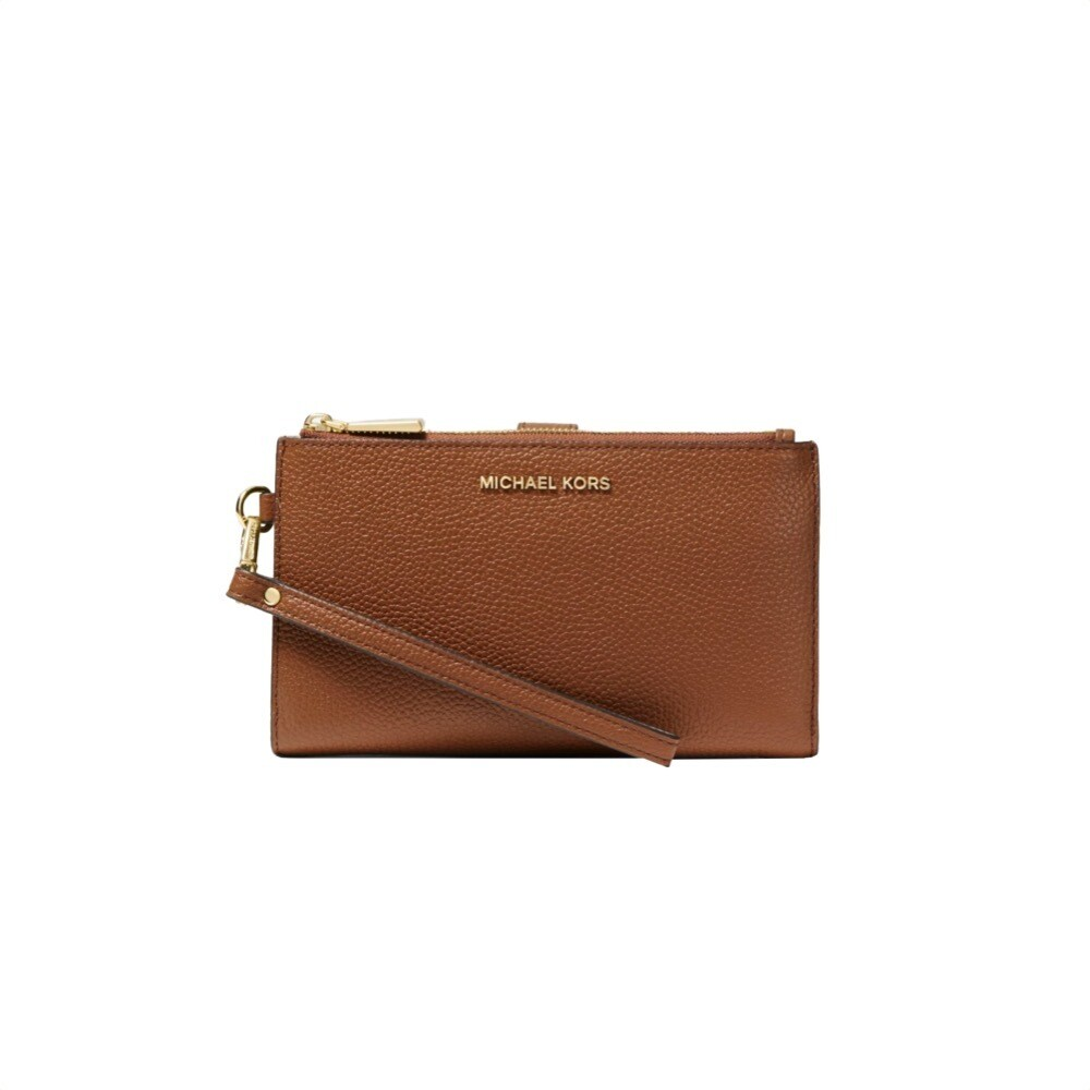 MICHAEL KORS - Jet Set Double Zip Wristlet - Luggage
