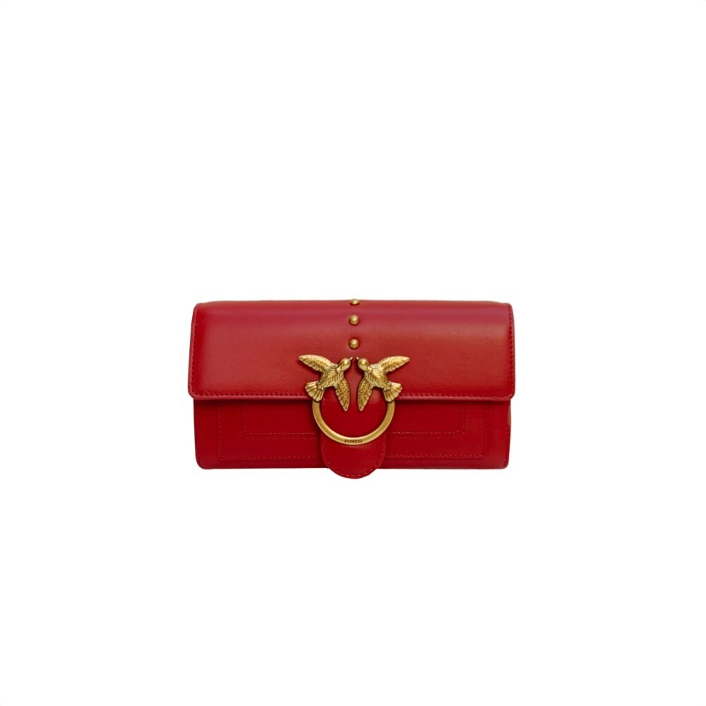 PINKO - Love Wallet Simply - Ruby Red