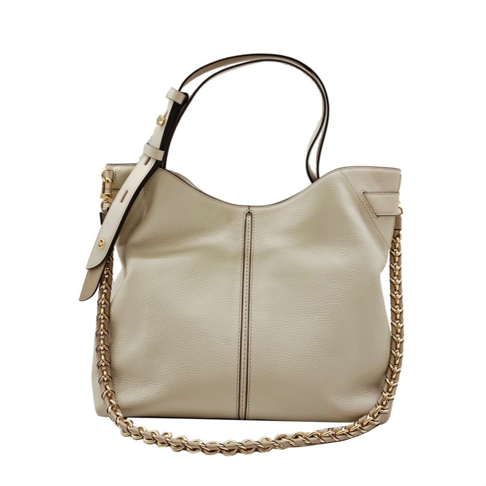 MICHAEL KORS - Downtown Astor Borsa a spalla grande - Light Sand Multi