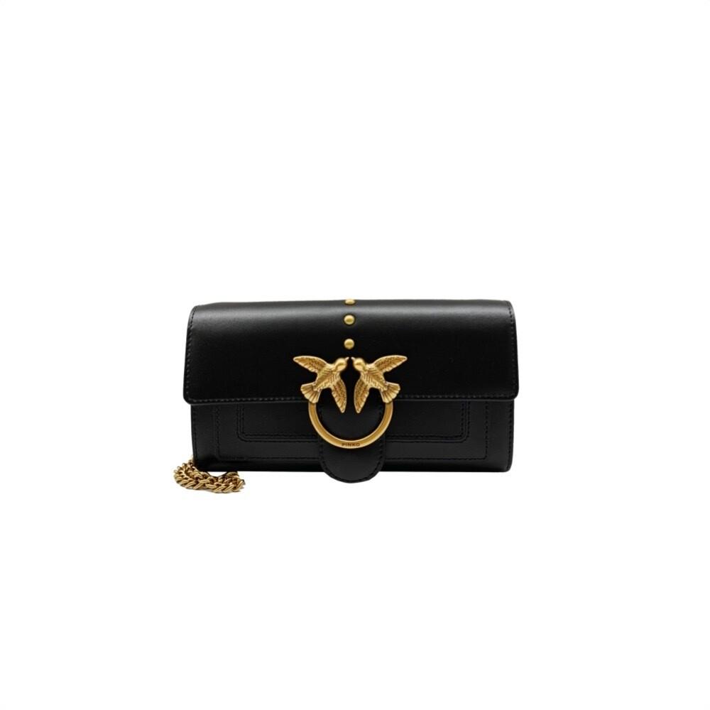 PINKO - Love Wallet Simply - Black