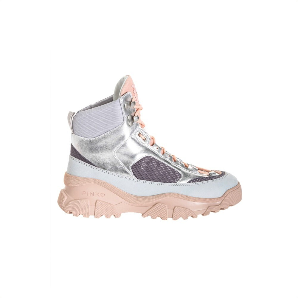 PINKO - High Trek Sneakers laminate - Grey
