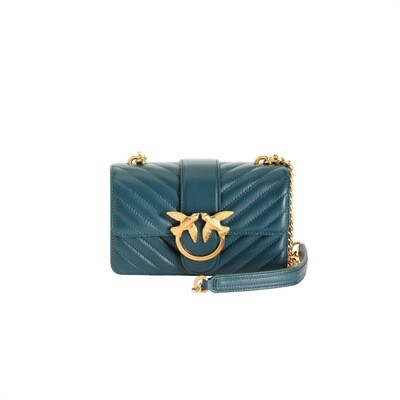 PINKO - Love Mini Icon V Quilt - Dark Green