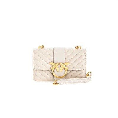 PINKO - Love Mini Icon V Quilt - Ghiaccio