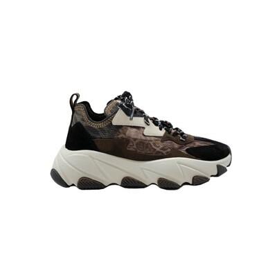 ASH - Eclipse Bis Sneakers - Old Cheeta/Black/Espresso/OffWhite