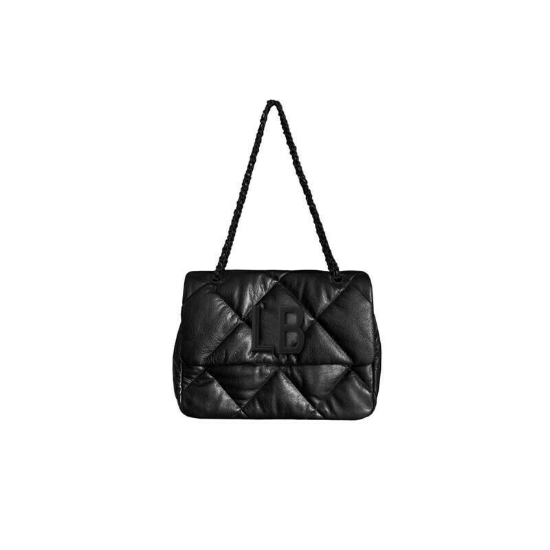 MIA BAG - Tiffany Tracolla grande (misura CLASSICA) in pelle - Nero
