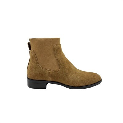 WHAT FOR - Ryan stivaletto basso suede - Dark Brown
