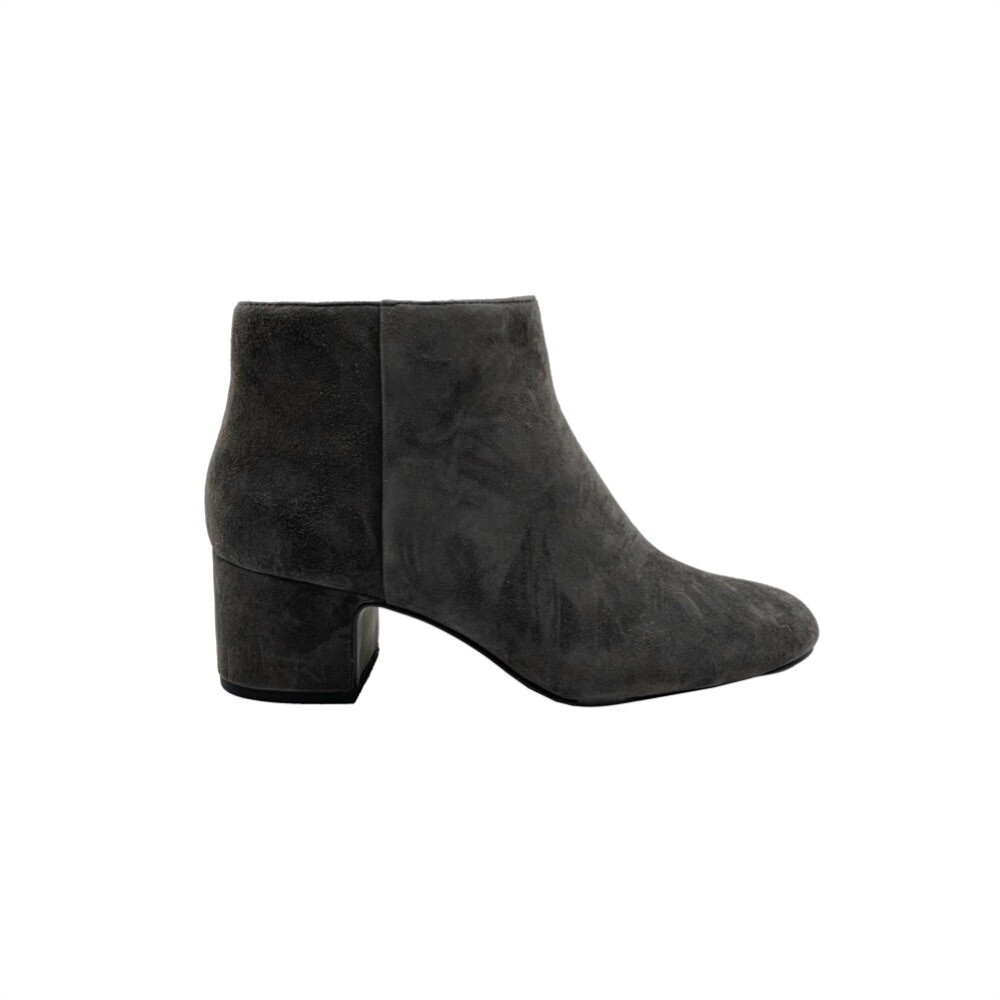 WHAT FOR - Marylin stivaletto suede - Dark Grey