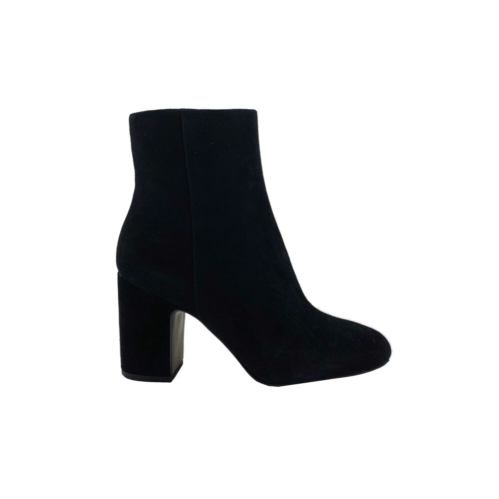 WHAT FOR - Miala Stivaletto Suede - Black