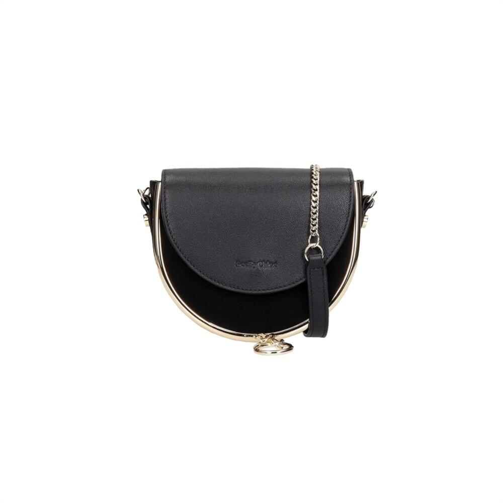 SEE BY CHLOÉ - Mara Mini Crossbody Bag Suede - Black