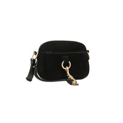 SEE BY CHLOÉ - Tony Crossbody Bag Suede - Black