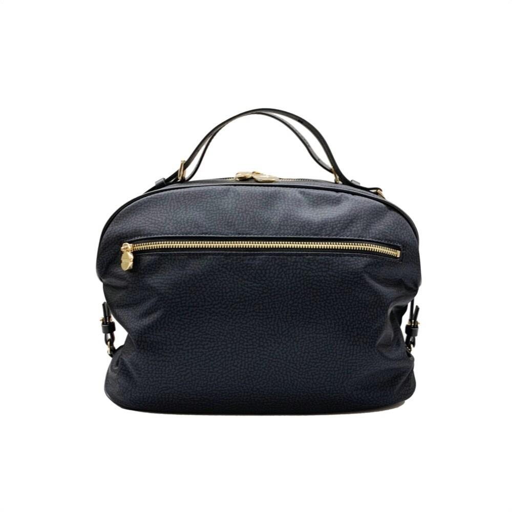 BORBONESE - Sexy Bag Medium Nylon OP - Black