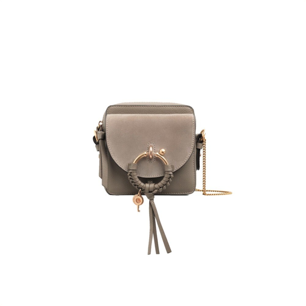 SEE BY CHLOÉ - Joan Mini Crossbody Bag - Motty Grey