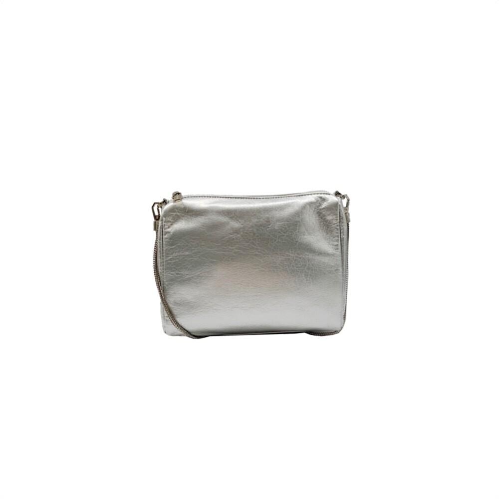 MIA BAG - Tracollina Naplack Personalizzabile - Argento