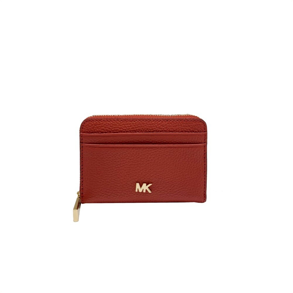 MICHAEL KORS - Mott Zip Around Coin Card Case - Terracotta