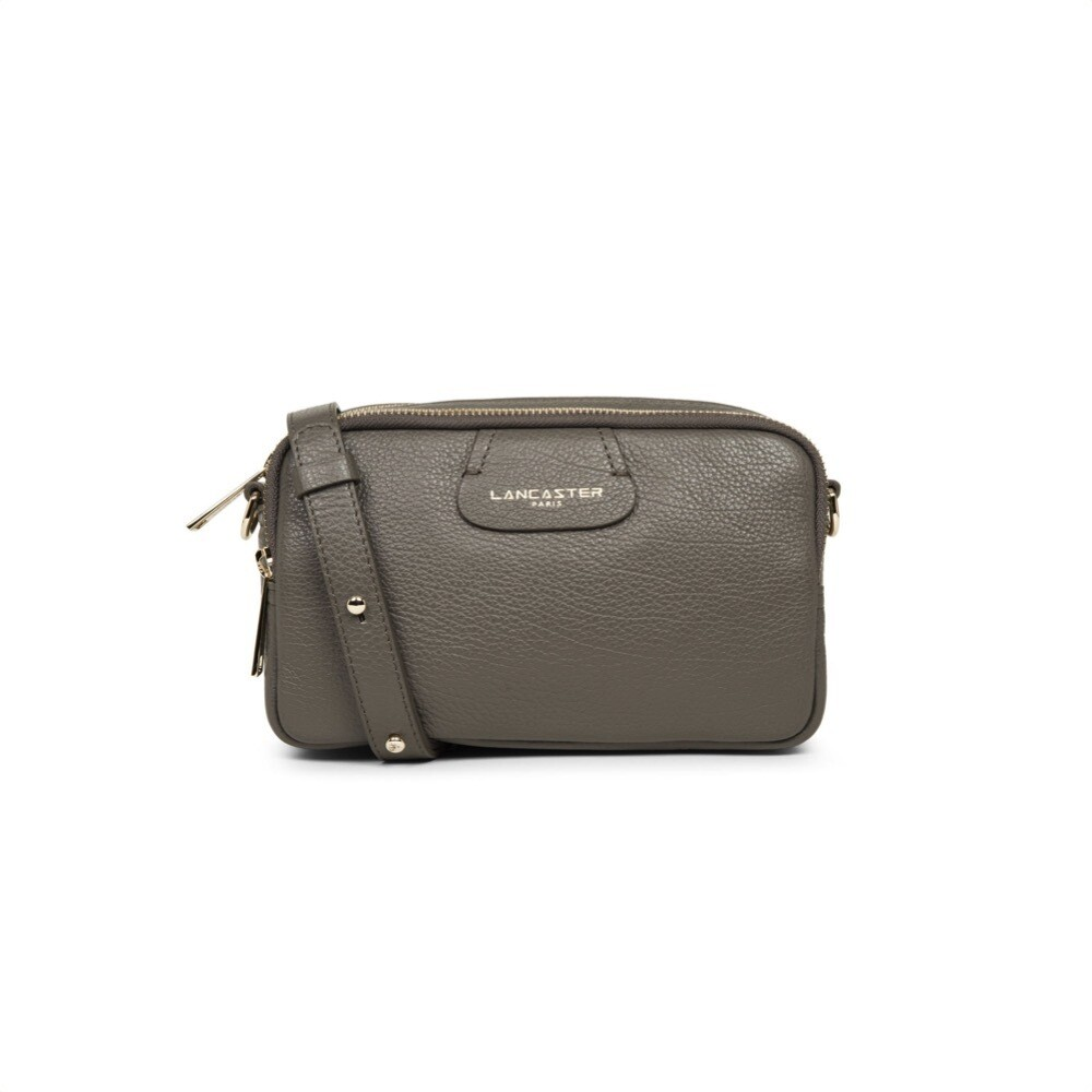 LANCASTER - Dune Small tracolla tre zip - Gris