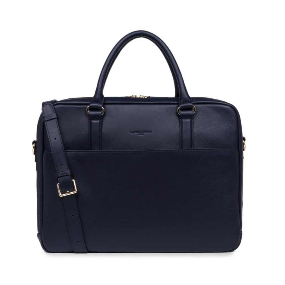 LANCASTER - Business Bag - Bleu Fonce