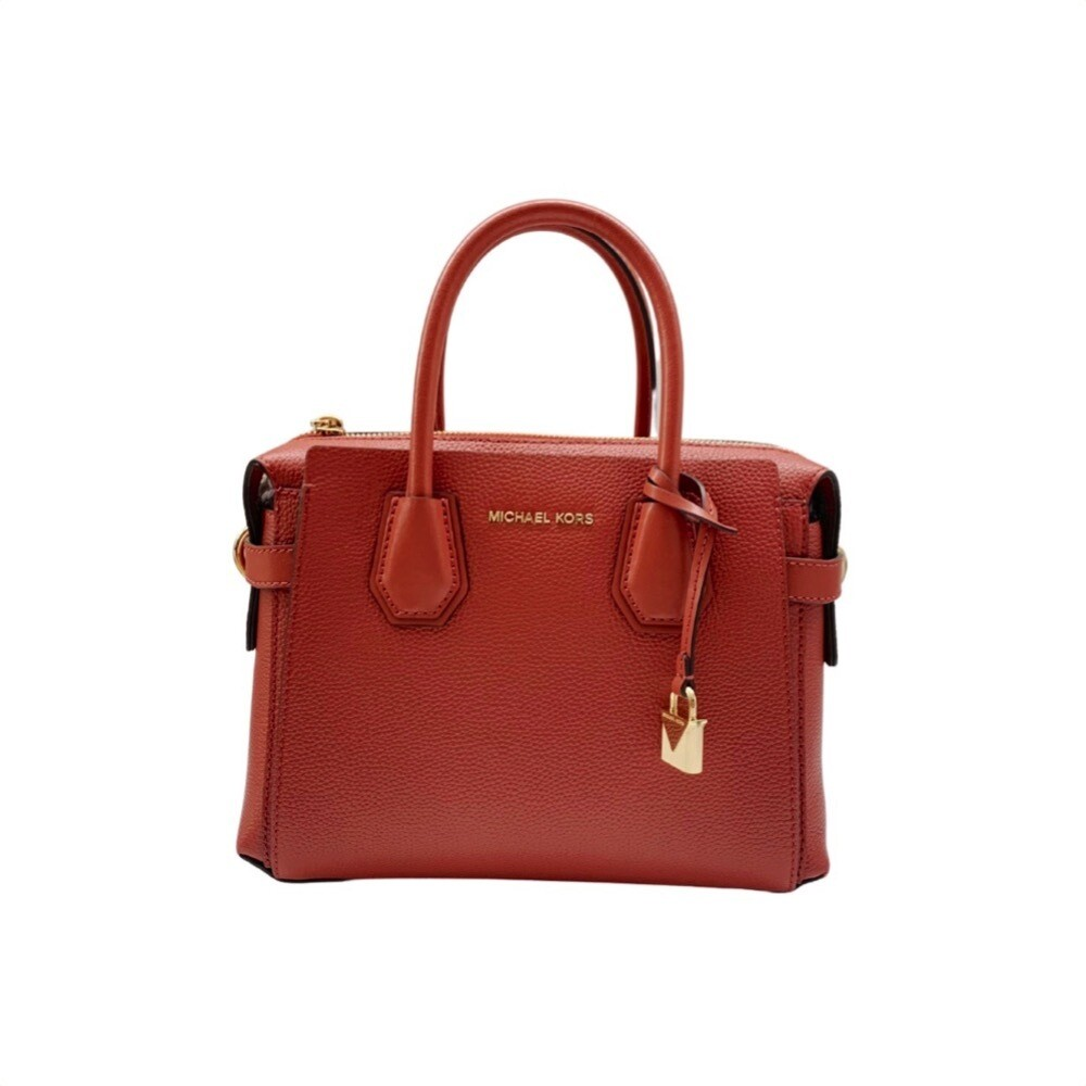 MICHAEL KORS - Mercer Small Borsa a mano - Terracotta