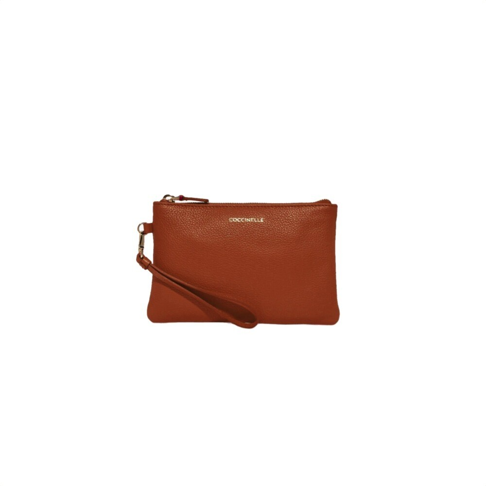 COCCINELLE - New Best Soft Mini Pochette - Caramel