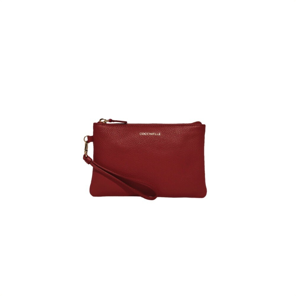 COCCINELLE - New Best Soft Mini Pochette - Foliage Red