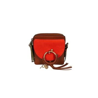 SEE BY CHLOÉ - Joan Mini Crossbody Bag - Caramello