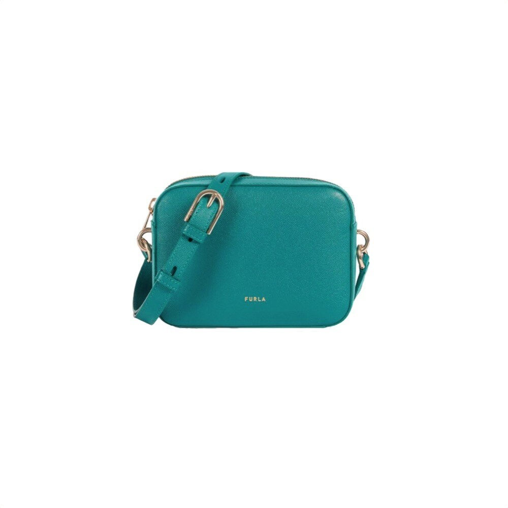 FURLA - Block Mini Crossbody - Smeraldo