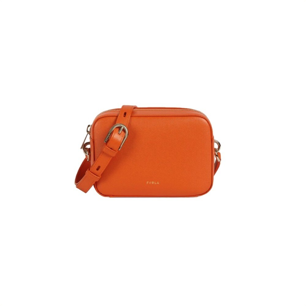 FURLA - Block Mini Crossbody - Orange