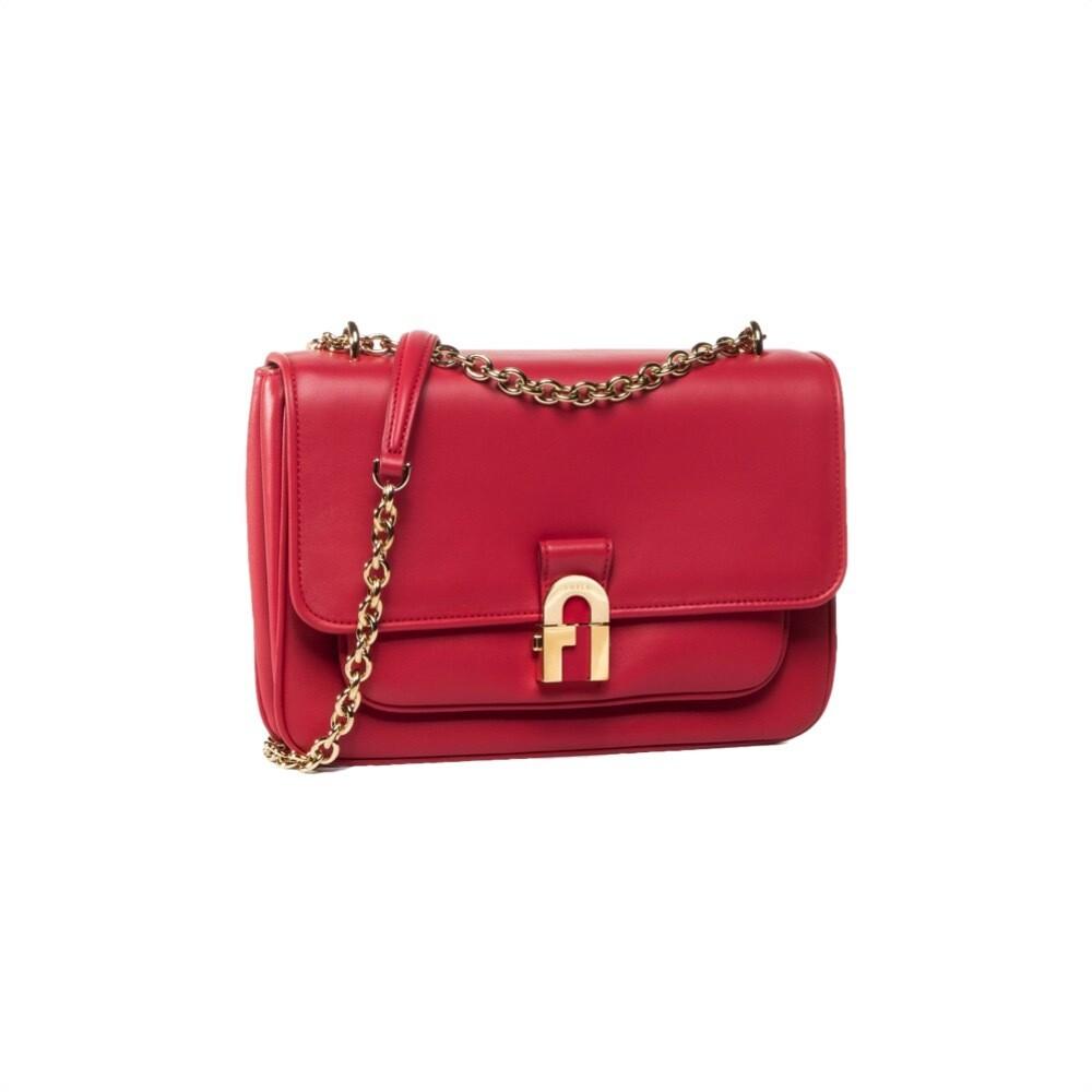 FURLA - Cosy S Shoulder Bag - Ruby