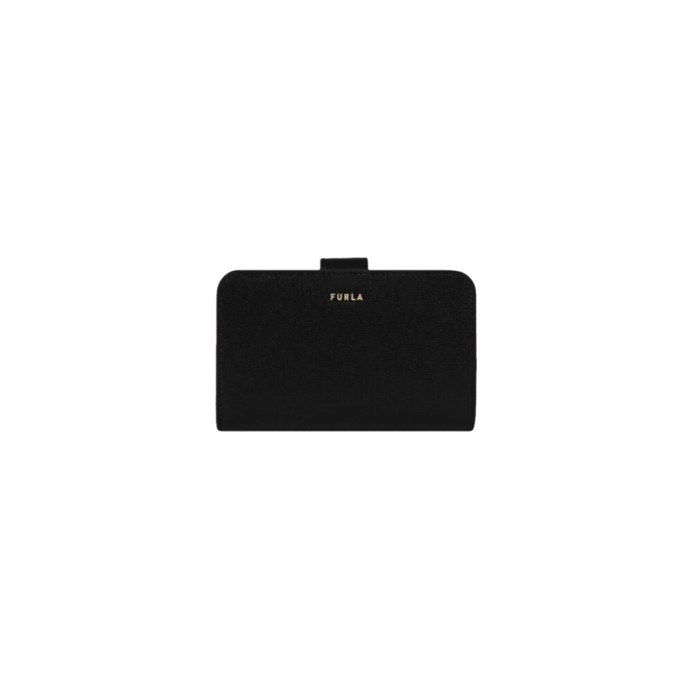 FURLA - Babylon S Compact Wallet - Nero