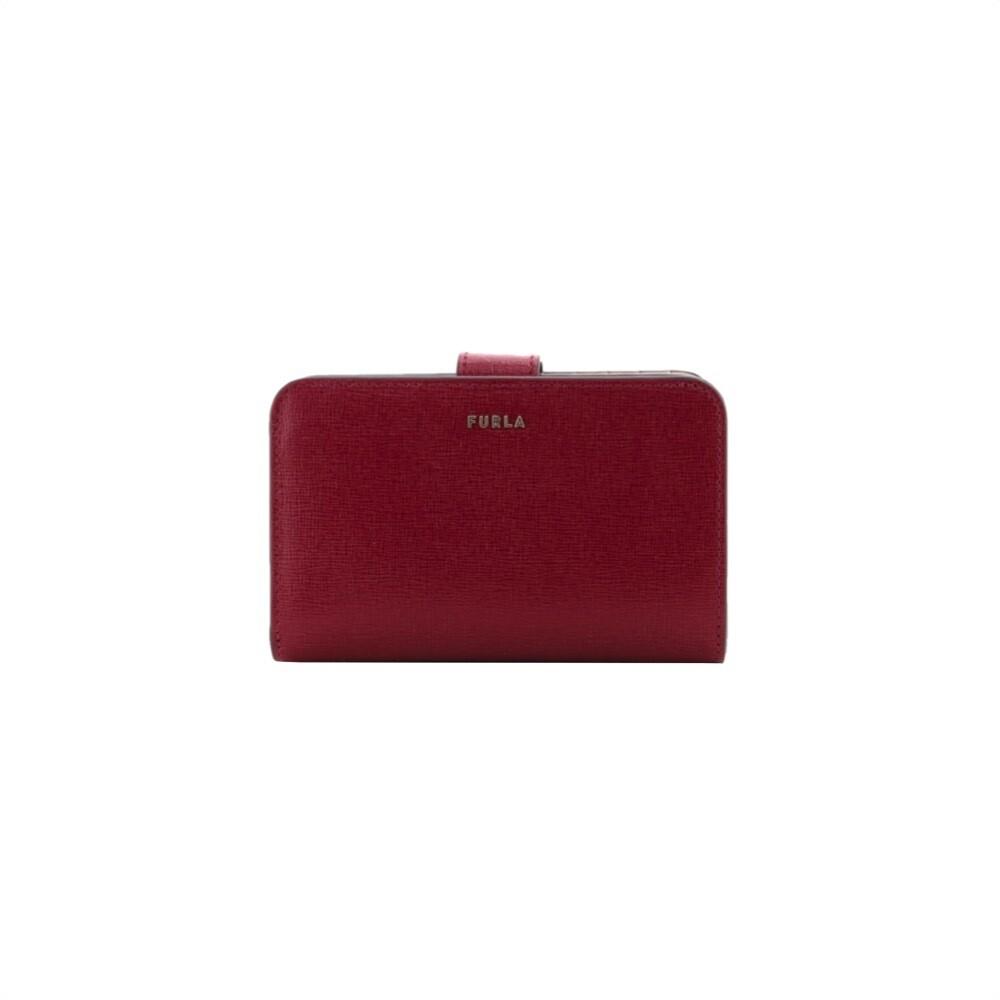FURLA - Babylon M compact wallet - Ciliegia