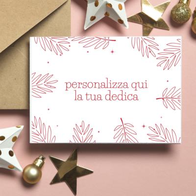 BIGLIETTO REGALO - Natale (Personalizzato)