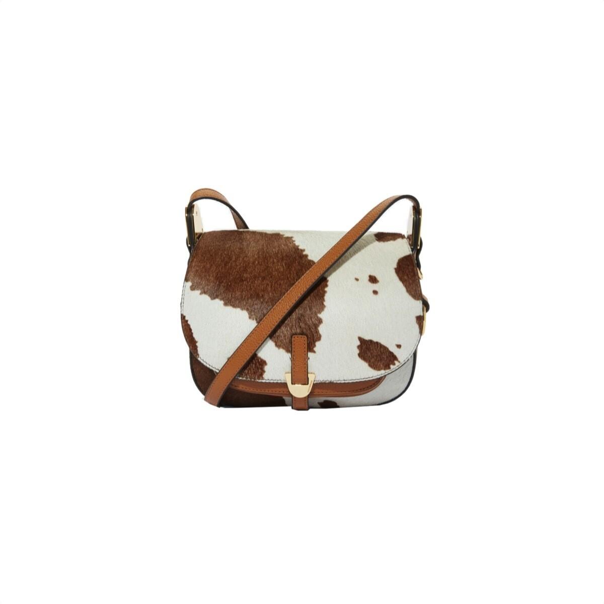 COCCINELLE - Fauve Cow Mini - Multi Moka/Caramel
