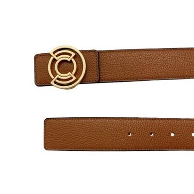 COCCINELLE - Cintura Cachet - Caramel