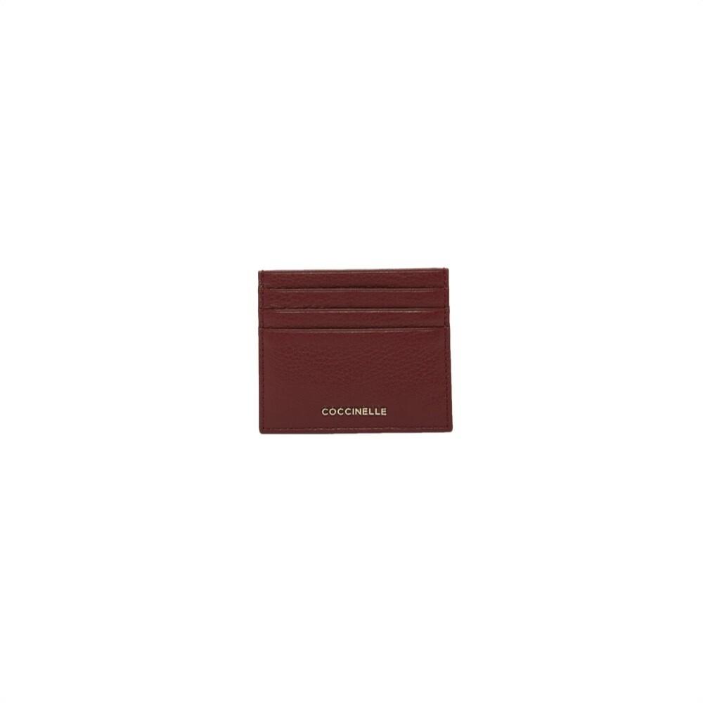 COCCINELLE - Metallic Soft Portacarte - Marsala