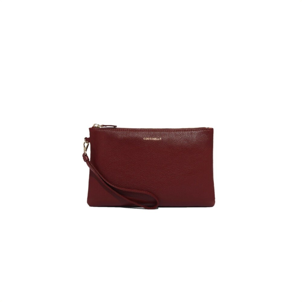 COCCINELLE - New Best Soft Pochette Media - Foliage Red