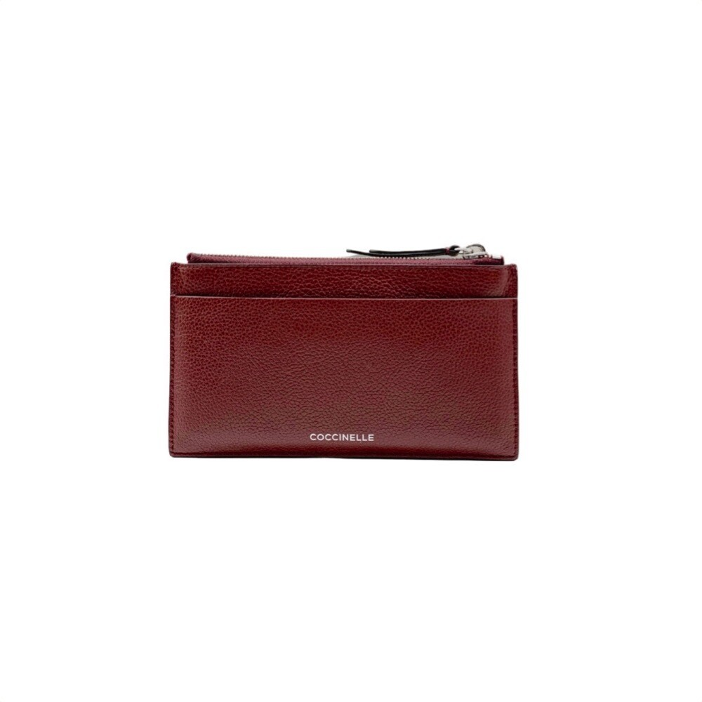 COCCINELLE - Passepartout Pochette - Marsala/Foliage Red/ Deep Violet
