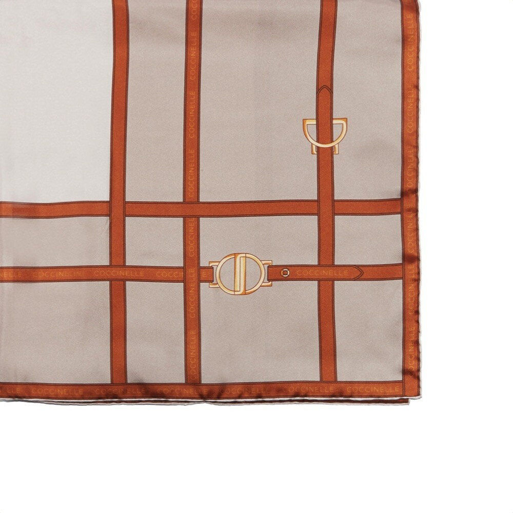 COCCINELLE - Sellery Foulard 90x90 - Multi Taupe