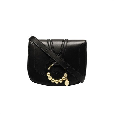 SEE BY CHLOÉ - Hana Small Perle Crossbody Bag - Black