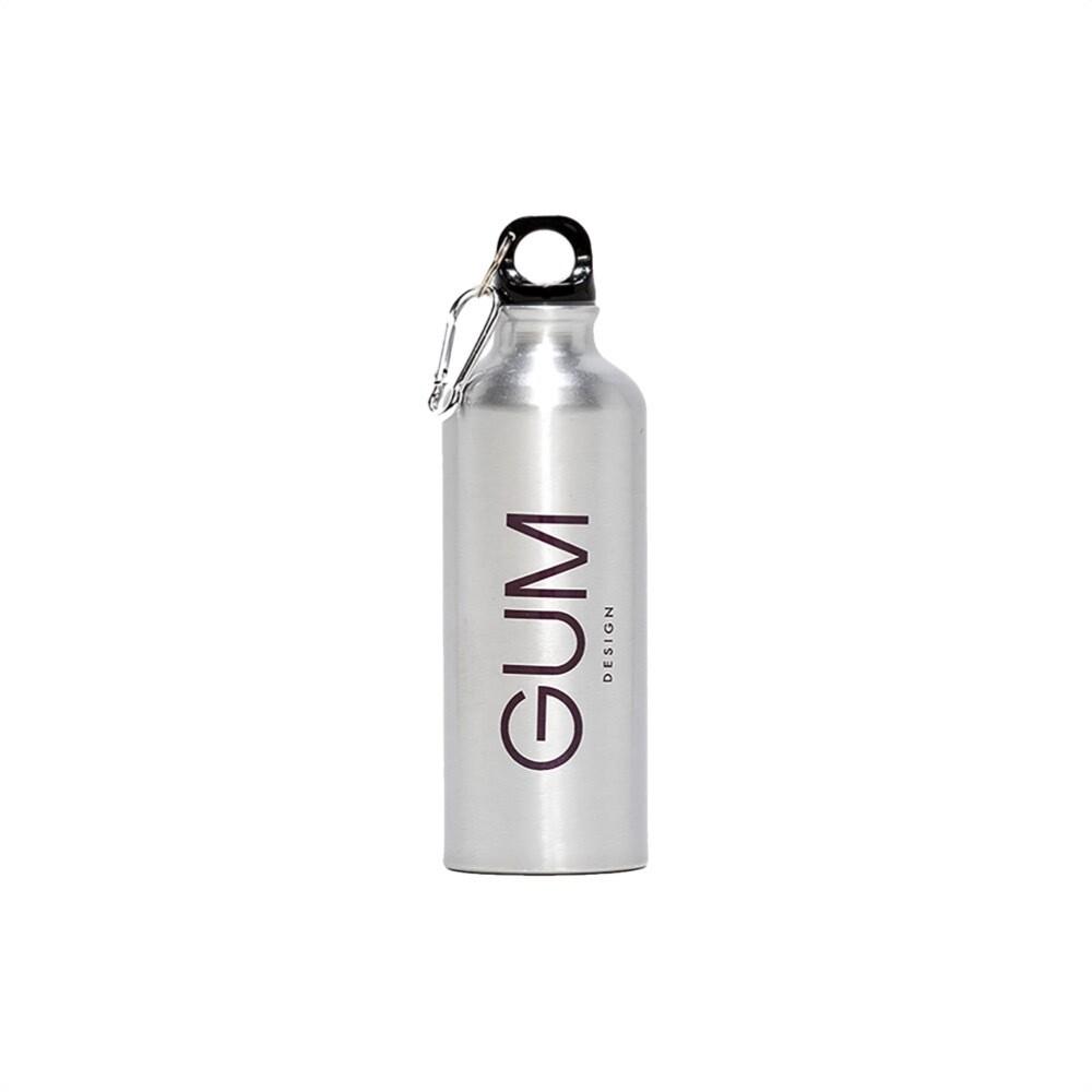 GUM - Borraccia logo GUM - SIlver