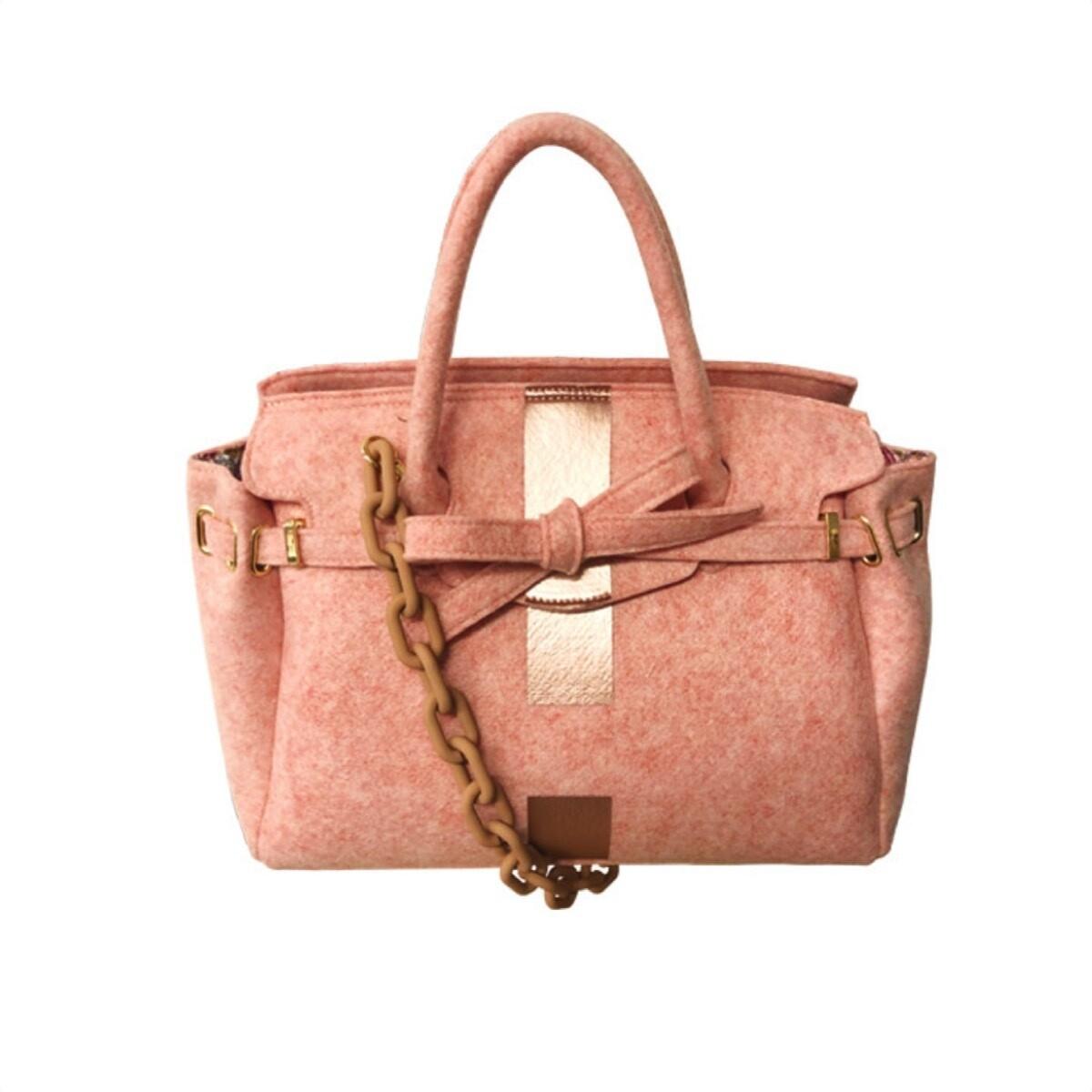 MIA BAG - Due Manici Recycle - Rosa