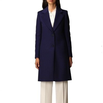 PATRIZIA PEPE - Cappotto 2 bottoni - Purplish Blue