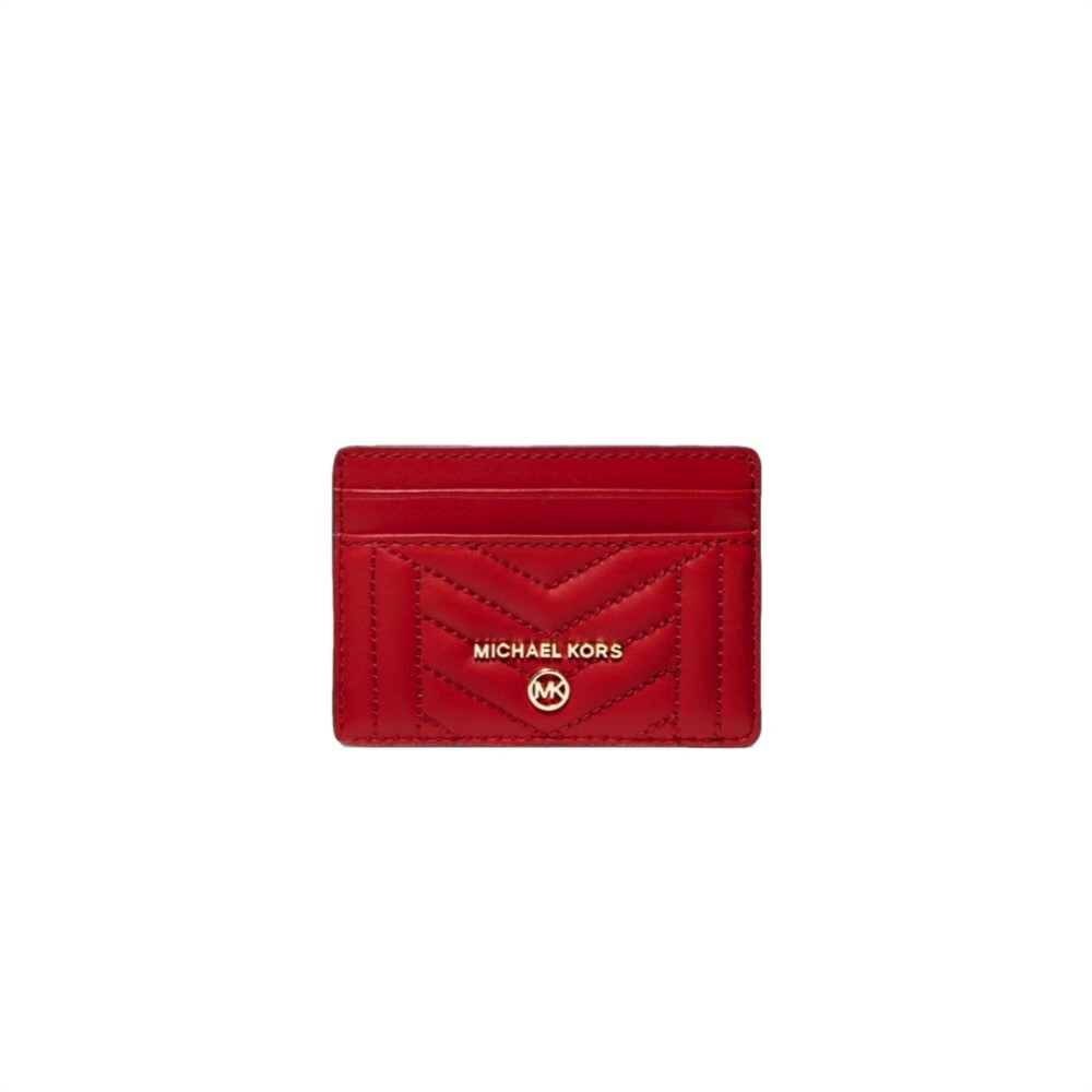 MICHAEL KORS - Card Holder Charm - Bright Red