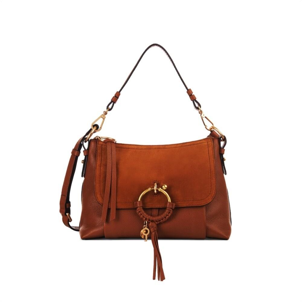 SEE BY CHLOÉ - Joan Small Shoulder Bag - Caramello