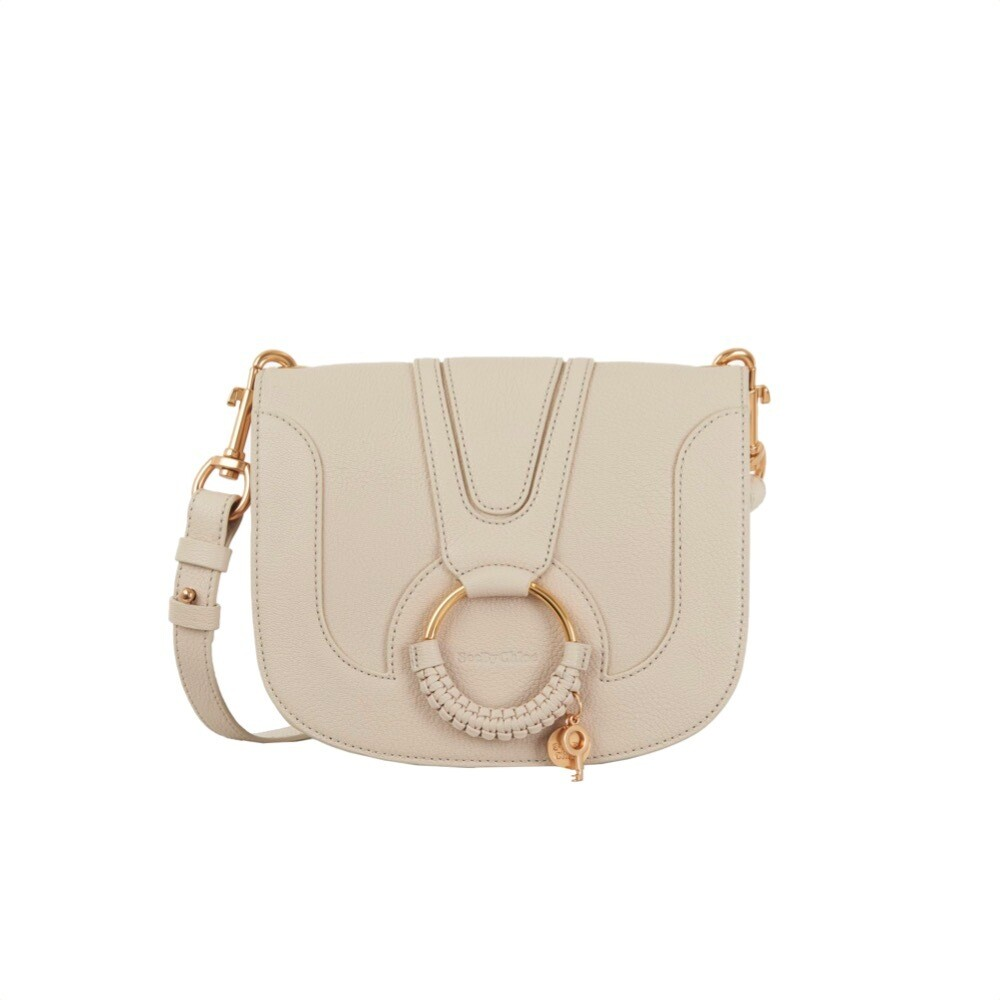 SEE BY CHLOÉ - Hana Small Crossbody Bag - Cement Beige