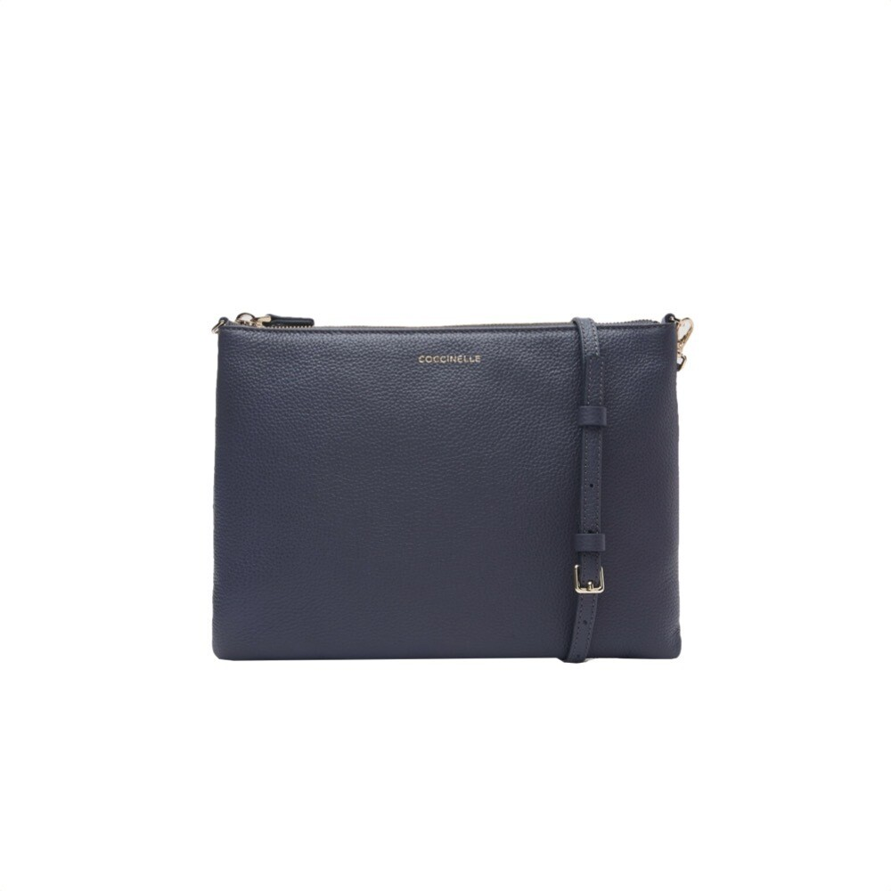COCCINELLE - Best Crossbody Soft - Ash Grey